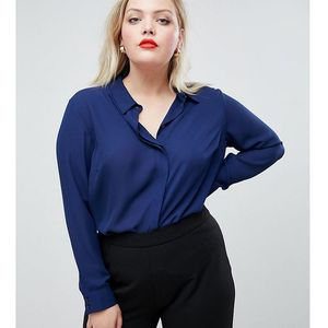 Asos design curve soft shirt - white, Asos curve