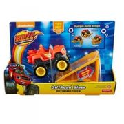 Fisher price Pojazd blaze off-road z rampą