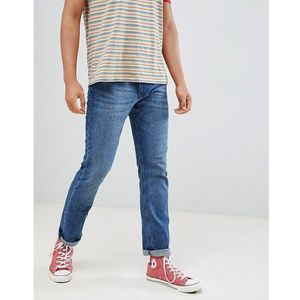 Esprit Straight Fit Blue Jean In Organic Cotton - Blue, proste