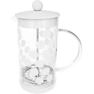 Zak! designs Kawiarka french press dot dot 1 litr biała (1313-880) (7640127687635)