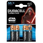 Duracell Baterie turbo max aa 4szt.