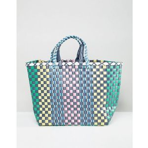 multi woven large bag - multi marki Stradivarius