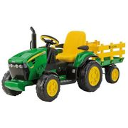 PEG PEREGO Traktor John Deere Power Pull Ground 12V, IGOR0047_MAX