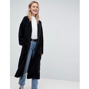 ASOS Soft Duster Coat - Grey, kolor szary