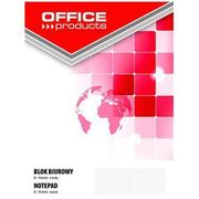 Blok biurowy OFFICE PRODUCTS, A5, w kratkę, 50 kart., 70gsm