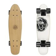 Deskorolka fishskateboards wood white logo/ black / black marki Fish skateboards