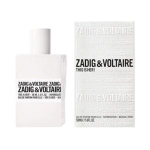 Zadig & Voltaire This Is Her! Woman 50ml EdP