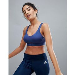 Adidas high support bra in blue - blue