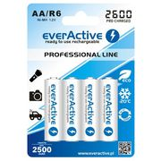 Everactive 4x akumulatorki r6/aa ni-mh 2600 mah ready to use