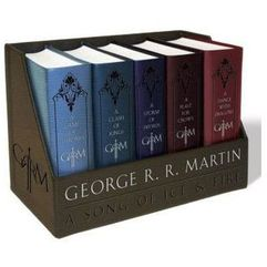 Kupuję - A Game of Thrones Leather-Cloth Boxed Set