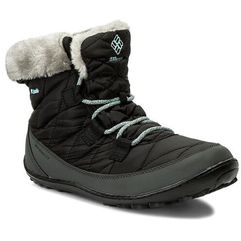 Śniegowce - youth minx shorty omni-heat waterproof by1334 black/sparay 010, Columbia, 35-36