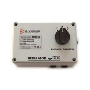Blow air Regulator prędkości blowair rx 0,6a do s1