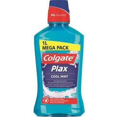 plax cool mint płyn do płukania jamy ustnej 1000 ml marki Colgate