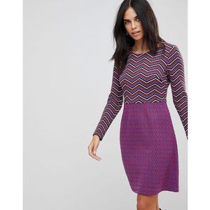Traffic People Textured 2-In-1 Dress In Mixed Print - Multi, w 2 rozmiarach