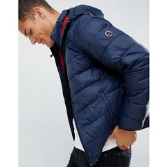 lightweight packable down puffer with hood in navy - navy marki Abercrombie & fitch