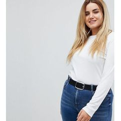 leather jeans belt - black marki Asos curve