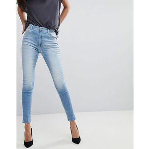 super high rise skinny jean - blue, Replay