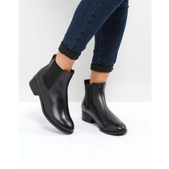 ALDO Meaven Leather Chelsea Ankle Boots - Black