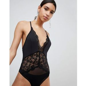 lace body - black, Parallel lines