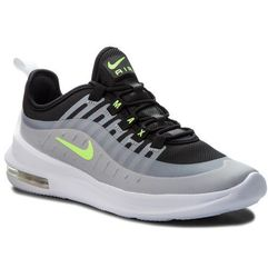 Buty NIKE - Air Max Axis (GS) AH5222 005 Black/Volt/Wolf Grey, kolor szary