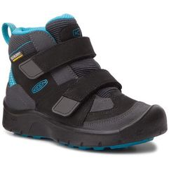 Trzewiki KEEN - Hikeport Mid Strap Wp 1017997 Black/Blue Jewel, kolor czarny