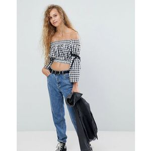 shearing crop top with tie sleeves - multi, Love, 34-40