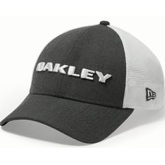 czapka heather new era hat graphite marki Oakley