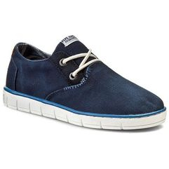Pepe jeans Półbuty - race basic pbs30166 naval blue 575