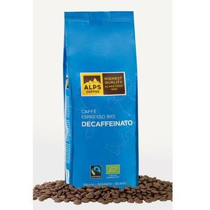 Alps coffee (schreyögg) Kawa ziarnista bezkofeinowa alps coffee bio decaffeinato 500g (4007460021602)