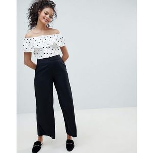 Pimkie wide leg trousers - black