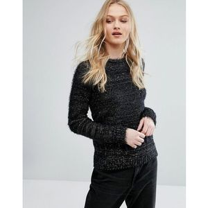 cussad mixed yarn knit jumper - black marki Bellfield