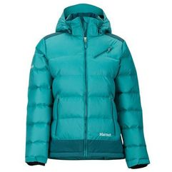 Marmot Damska kurtka puchowa Wm's Sling Shot Jacket Patina Green/Deep Teal XL