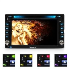 Auna mvd-480 moniceiver dvd cd mp3 usb sd hd 6,2' touchscree