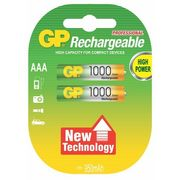 GP Batteries akumulatory 1000AAA (2 szt.), GP100AAAHCE-2GBE2