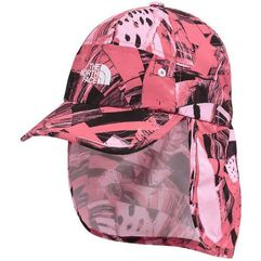 The North Face czapka z daszkiem Youth Party Back Hat Honeysuckle pink spirograph hike print