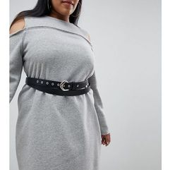 double wrap waist and hip belt - black marki Asos curve
