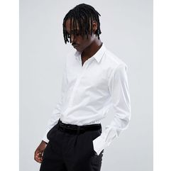 long sleeve smart shirt in white - white, Antony morato, XS-XL