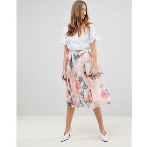 printed full skirt co-ord - multi marki Y.a.s