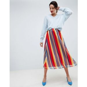 Gestuz rainbow long skirt - Multi