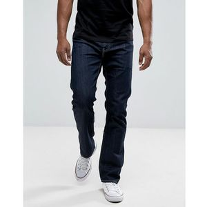 Levis Jeans 504 Regular Straight Fit - Blue, jeansy