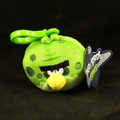 Angry Birds: Space - Plusz brelok: Fat Green Bird - CAB92738
