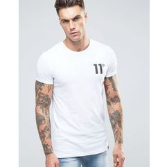 logo t-shirt - white marki 11 degrees