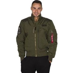engine 257 dark green - kurtka męska, Alpha industries