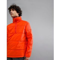 66 north holar primaloft high collar insulation anorak in orange - orange marki 66o north