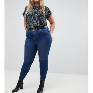 New Look Curve Super Soft Jean - Blue, kolor niebieski