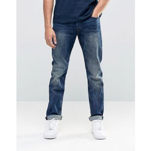 vintage wash regular fit jeans with stretch - blue, Only & sons