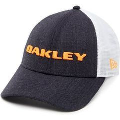 czapka heather new era hat neon orange marki Oakley