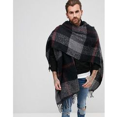 ASOS Cape In Multi Check - Multi