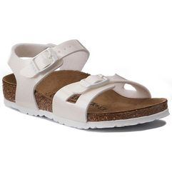 Sandały - rio kids 0831693 magic galaxy white marki Birkenstock