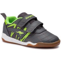 Buty KANGAROOS - Court Comb V 18332 000 2014 Steel Grey/Lime